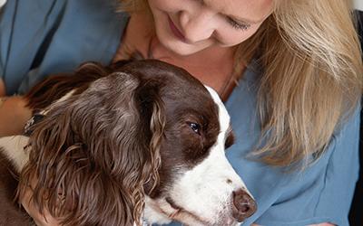 Portraits with Senior Dog Eliot | Riverside CA